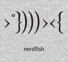 Nerdfish - Black by LTDesignStudio
