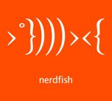 Nerdfish - White Kids Clothes