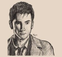 David Tennant Sketch by forcertain