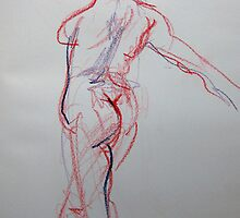 Maia 2 min - Drawing Day 2011 by Karin Zeller