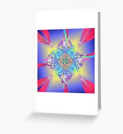 Ribbon Flowering Greeting Card