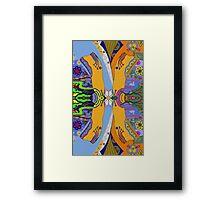 Japonica Mirror Framed Print