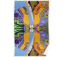 Japonica Mirror Poster