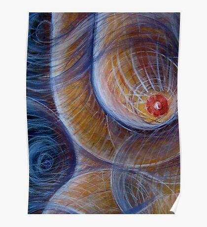 Circular Breast Poster