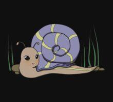 Cute snail Kids Tee