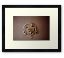 Lights Camera Action. Framed Print