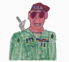 American Hero Soldier  Kids Clothes