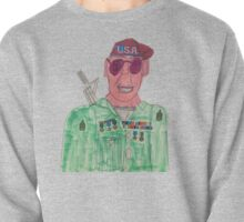 American Hero Soldier  Pullover