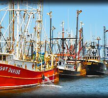Fishing boats of New Bedford by Poete100