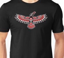 Tribal Crow Unisex T-Shirt