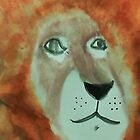 Lion,for my Africa Series, watercolor by Anna  Lewis