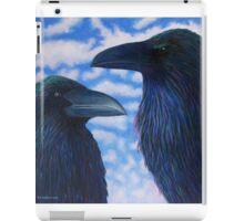 Two Ravens iPad Case/Skin