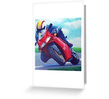 Ducati 916 Greeting Card