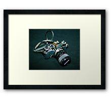 My first SLR camera Framed Print
