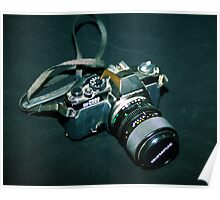 My first SLR camera Poster