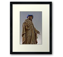 Mary Illuminated Framed Print