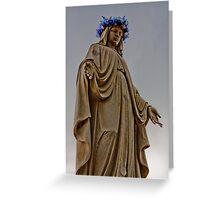 Mary Illuminated Greeting Card