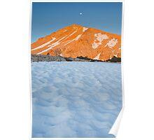Cirque Peak Sunrise Poster