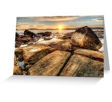 Umina Sunrise Sunrays Greeting Card