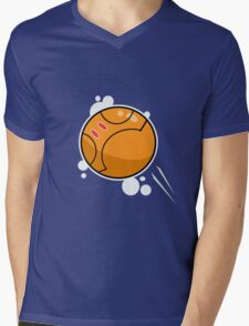 Orange Haro Mens V-Neck T-Shirt