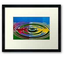 Primary Color  Framed Print