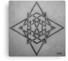 Star Knots Canvas Print