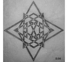 Star Knots Photographic Print