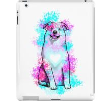 Australian Shepherd in Watercolor Splash iPad Case/Skin