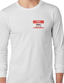 Hello my name is ZUUL Long Sleeve T-Shirt