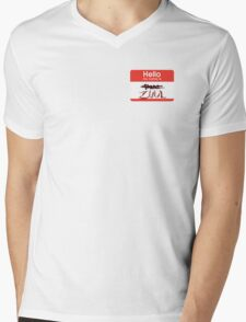 Hello my name is ZUUL Mens V-Neck T-Shirt