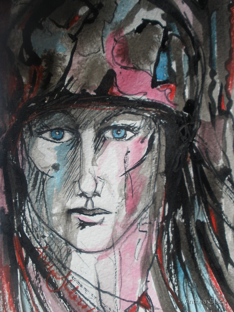 Woman Soldier by Anthea  Slade