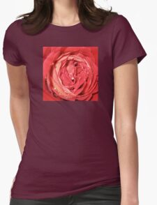 Rose with Water Droplets Photograph T-Shirt