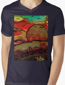 Emperor's Sun Mens V-Neck T-Shirt