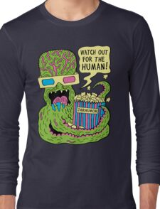 Alien Monster Movie Long Sleeve T-Shirt