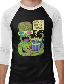 Alien Monster Movie Men's Baseball ¾ T-Shirt