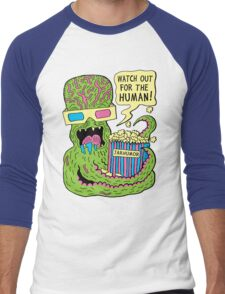 Alien Monster Movie Men's Baseball ¾ T-Shirt