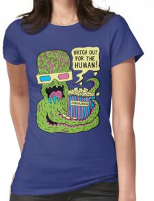 Alien Monster Movie Womens Fitted T-Shirt