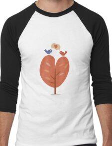 SweetyBirds - Love Birds Men's Baseball ¾ T-Shirt
