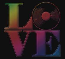 Vinyl Love One Piece - Long Sleeve