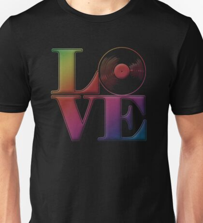 Vinyl Love Unisex T-Shirt