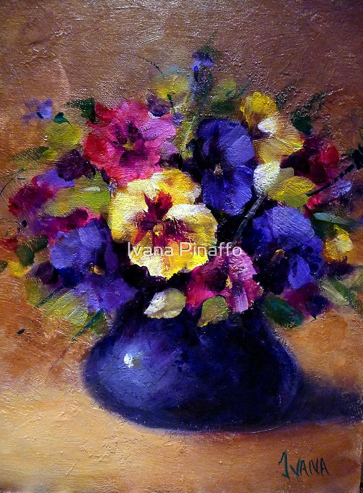 Pansies by Ivana Pinaffo