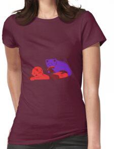Gummy Bear Dinner Womens Fitted T-Shirt