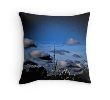 """ain`t nothing but a stranger in this world"" Throw Pillow"