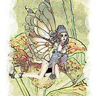 'Lily Fairy' by Pixelbloke