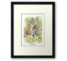 'Lily Fairy' Framed Print