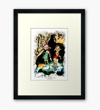 'Pot Elves' Framed Print