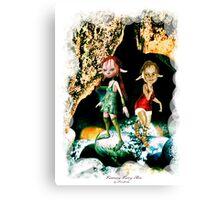 'Pot Elves' Canvas Print