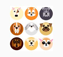 Chubby puppy spot pattern Unisex T-Shirt