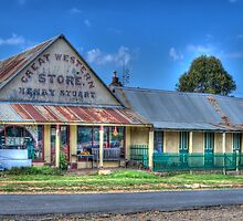 Great Western Store, Hill End, NSW, Australia by Adrian Paul