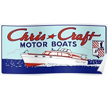 CHRIS CRAFT Poster